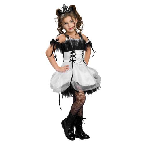 Gothic Ballerina Costume - Kids