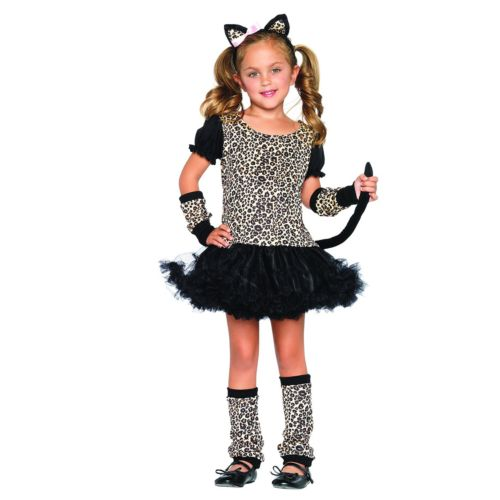 Little Lady Leopard Costume - Kids