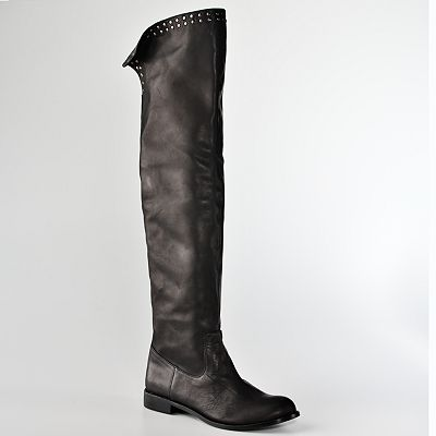 DOLCE by Mojo Moxy Legacy Over-the-Knee Riding Boots :  otk boots otk over the knee boots shoes