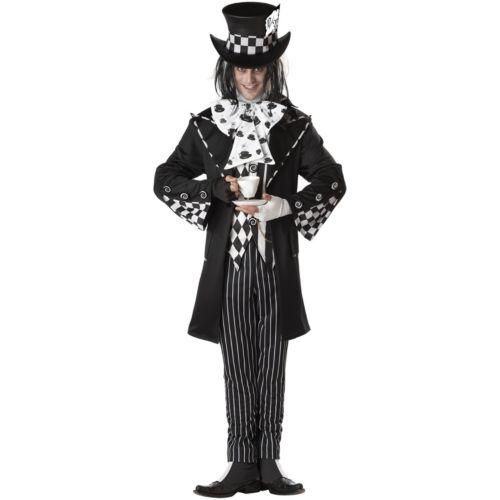 Dark Mad Hatter Costume - Adult