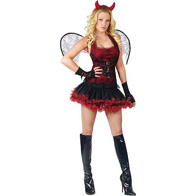 Night Wing Devil Costume - Adult