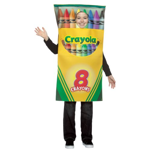 Crayola Crayon Box Costume - Kids