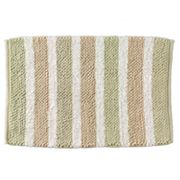 Beach House Striped Bath Rug