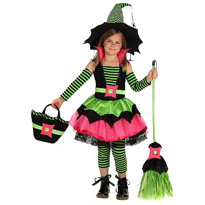 Spiderina Witch Costume - Kids