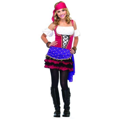 Crystal Ball Gypsy Costume - Teen
