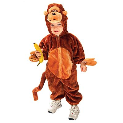 Monkey N' Around Costume - Toddler/Kids