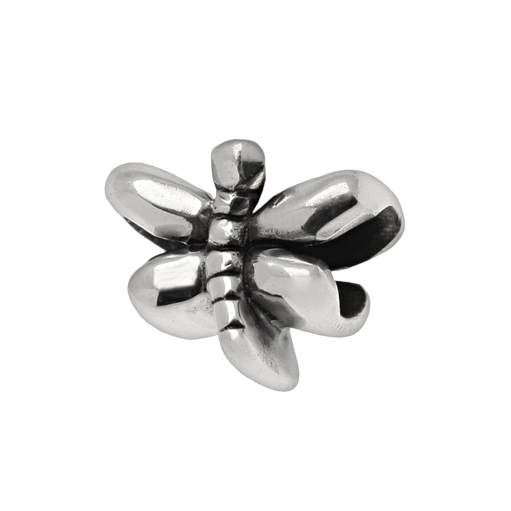 Individuality Beads Sterling Silver Dragonfly Bead