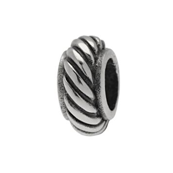 Individuality Beads Sterling Silver Twist Bead