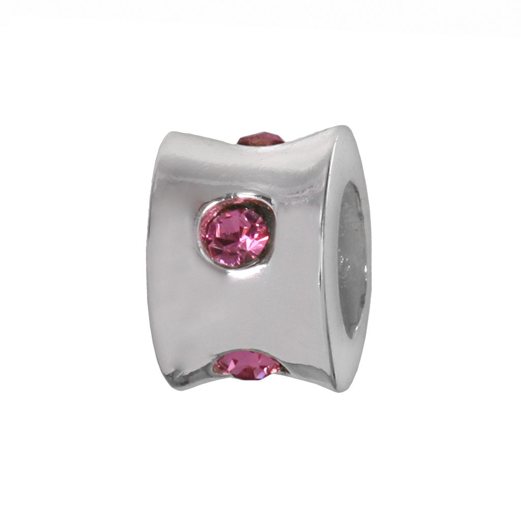 Individuality Beads Sterling Silver Cubic Zirconia Bead