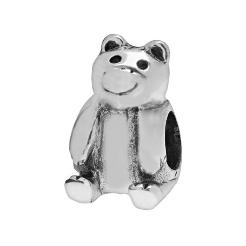 Individuality Beads Sterling Silver Bear Bead