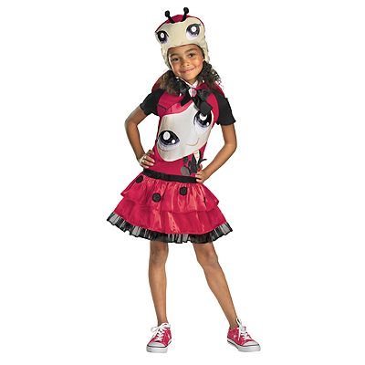 Littlest Pet Shop Ladybug Costume - Kids