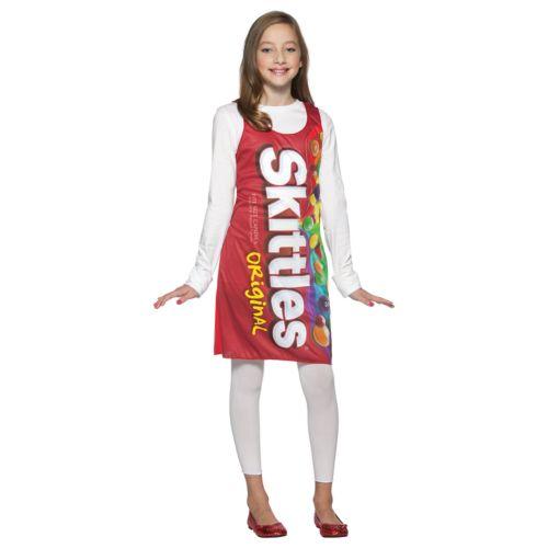 Skittles Costume - Tween