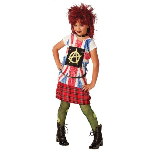 '80s Punk Girl Costume - Kids