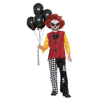 Last Laugh Clown Costume - Kids