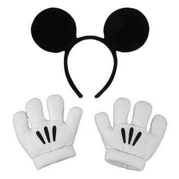 Disney Mickey Mouse Ears & Gloves - Kids
