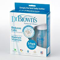 Dr. Brown's Natural Flow 3 pk4-oz. Bottles