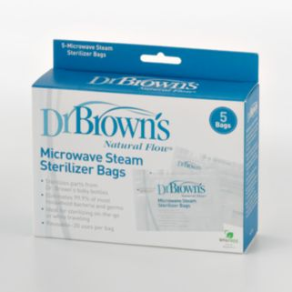 Dr. Brown's Natural Flow 5-pk. Microwave Steam Sterilizer Bags