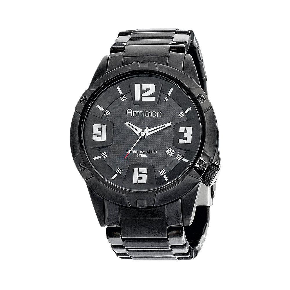 Armitron Men's Stainless Steel Watch - 20/4692BKTI