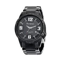 Armitron Men's Stainless Steel Watch - 20/4692BKTI