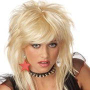 Rebellious Blond Wig
