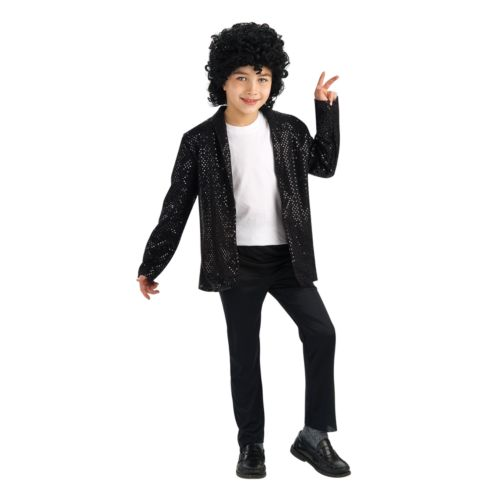 Michael Jackson Billie Jean Costume Jacket - Kids