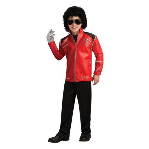 Michael Jackson Zipper Costume Jacket - Kids