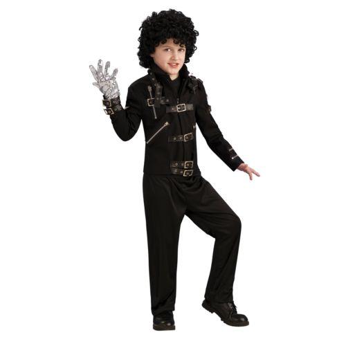 Michael Jackson Buckle Bad Costume Jacket - Kids