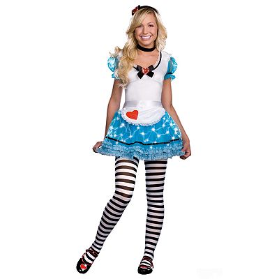 Wonderland's De-LIGHT Teen Costume
