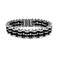 LYNX Stainless Steel Bicycle Chain Bracelet - Men