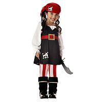 Precious Lil' Pirate Costume - Toddler/Kids