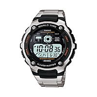Casio Men's Illuminator Stainless Steel Digital Chronograph Watch - AE2000WD-1AV