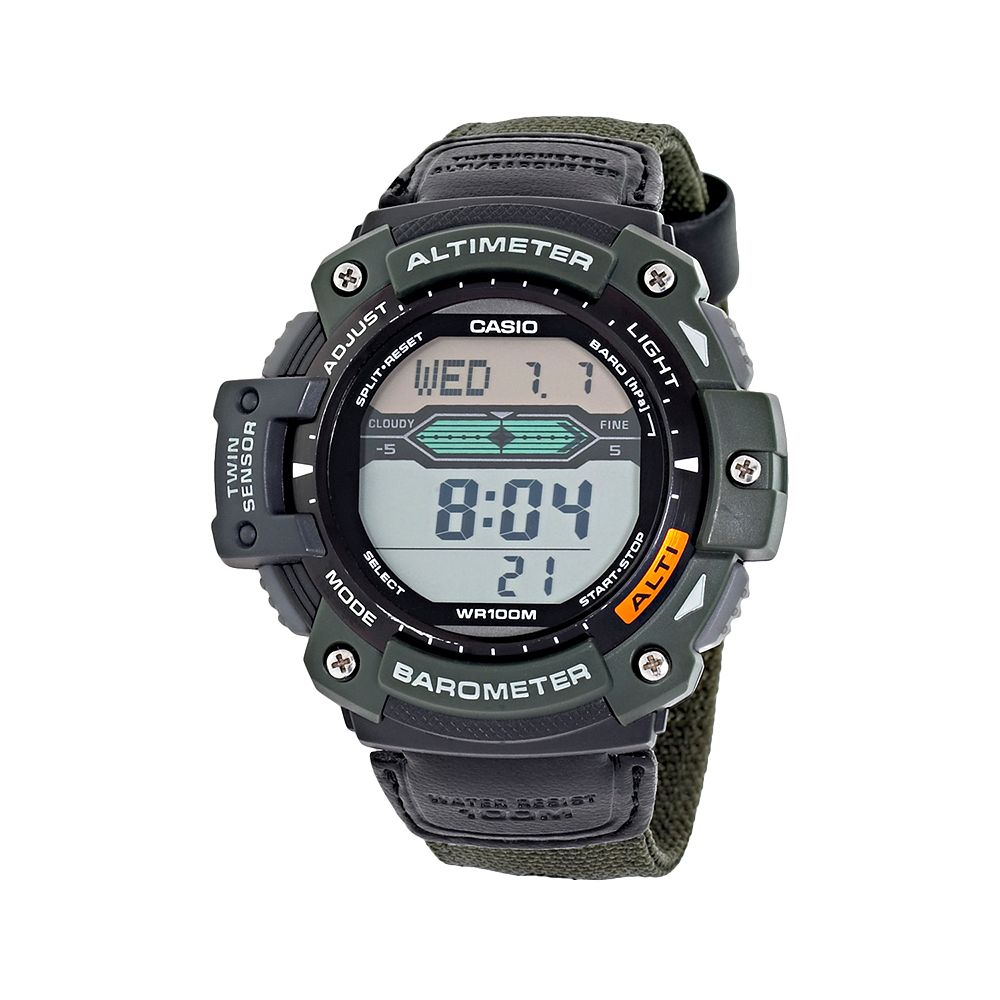 Casio Men's Twin Sensor Digital Chronograph Watch - SGW300HB-3AV