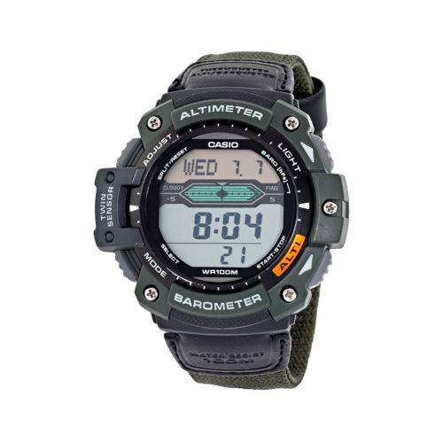 Casio Twin Sensor Digital Chronograph Watch - Men