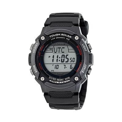 Casio Illuminator Tough Solar Digital Chronograph Watch - Men