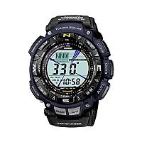 Casio Men's Pathfinder Tough Solar Triple Sensor Digital Chronograph Watch - PAG240B-2