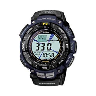 Casio Men's Pathfinder Tough Solar Triple Sensor Digital Chronograph Watch - PAG240B-2