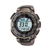Casio Pathfinder Tough Solar Triple Sensor Digital Chronograph Watch - Men