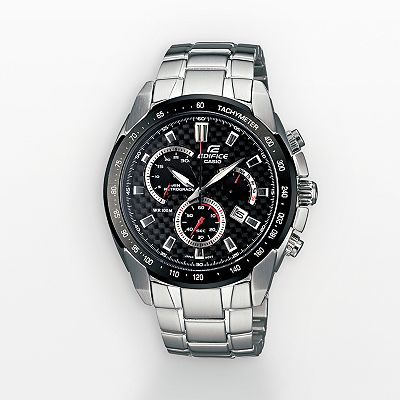 Casio Edifice Stainless Steel Chronograph Watch - Men