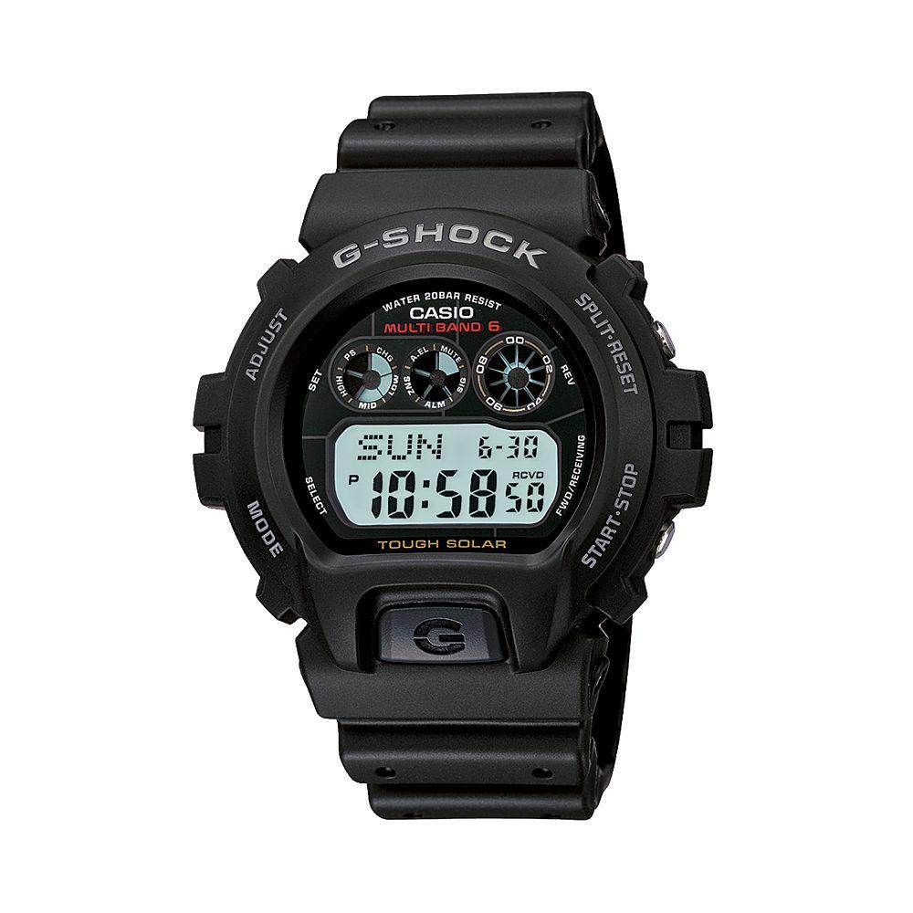 c49e9d467 Casio Men's G-Shock Tough Solar Atomic Digital Chronograph Watch ...