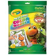 Crayola Dinosaur Train Color Wonder Markers and Coloring Pad