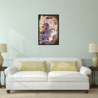 The Virgins Framed Poster by Gustav Klimt