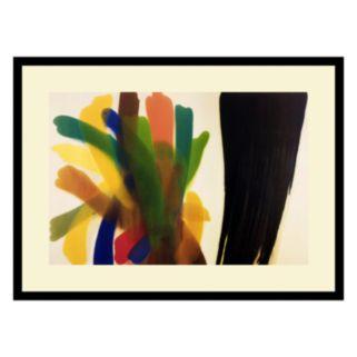 Winged Hue II Framed Art Print by Morris Louis