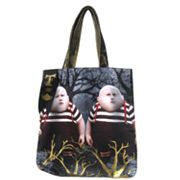 Disney Alice in Wonderland Tweedle Tote Bag