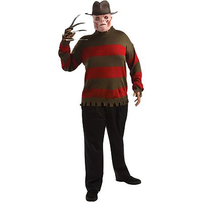 Freddy Krueger Costume Sweater - Adult Plus