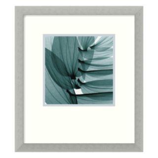 Lily Leaves Framed Art Print by Stephen N. Meyers