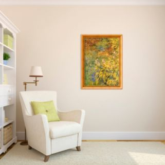 Irises Framed Art Print by Claude Monet
