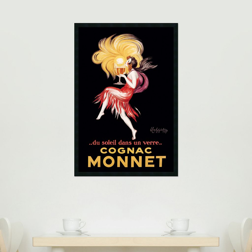 Cognac Monnet Framed Art Print by Leonetto Cappiello