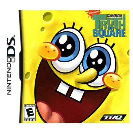 Nintendo DS SpongeBob's Truth or Square