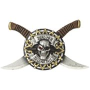 Pirate Dagger Costume Belt Buckle