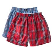 Jockey 2-pk. Plaid Boxers - Boys 4-20